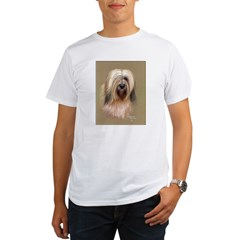 Tibetan Terrier Organic Men's T-Shirt
