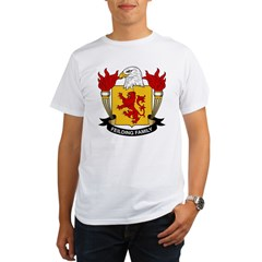 Feilding Family Crest Organic Men's T-Shirt