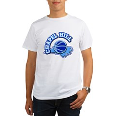Chapel Hill Basketbal Organic Men's T-Shirt