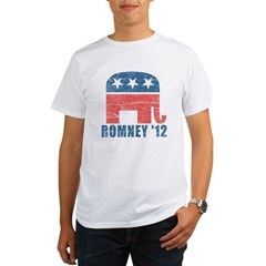 Romney 2012 Organic Men's T-Shirt