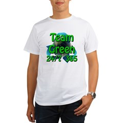 Team Green 24/7 365 Organic Men's T-Shirt