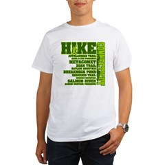 Hike Connecticut Organic Men's T-Shirt