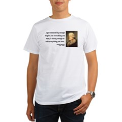 Thomas Jefferson 1 Organic Men's T-Shirt