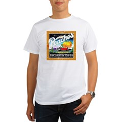 Peaches Records & Tapes Distr Organic Men's T-Shirt