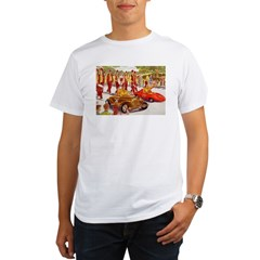 Shriner Mini Cars Organic Men's T-Shirt
