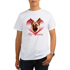 Tan Shep Valentine Organic Men's T-Shirt