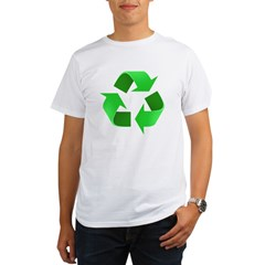 Environmentalist Go Green Tip Organic Men's T-Shirt
