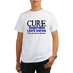 CURE ALS 3 Organic Men's T-Shirt