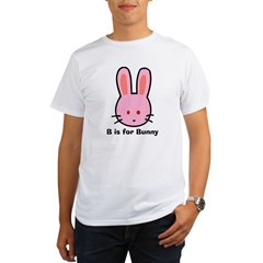 B is for Bunny Organic Men's T-Shirt