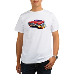 1958-59 Fury Red Car Organic Men's T-Shirt