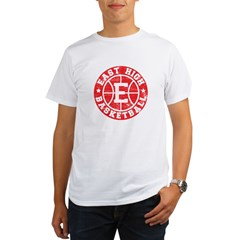East High Basketball Organic Men's T-Shirt