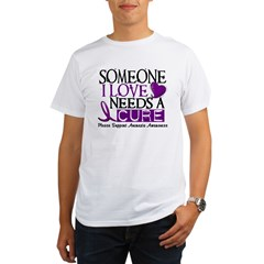 Needs A Cure ANOREXIA Organic Men's T-Shirt