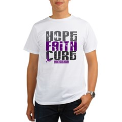 HOPE FAITH CURE Anorexia Organic Men's T-Shirt