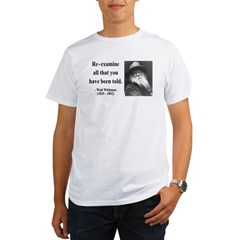 Walter Whitman 11 Organic Men's T-Shirt