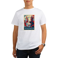 Vote Wiener! Organic Men's T-Shirt