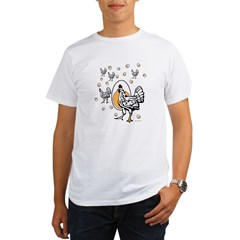 ChickenFlat.psd Organic Men's T-Shirt