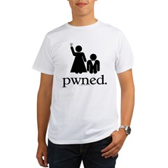 Pwned! Organic Men's T-Shirt