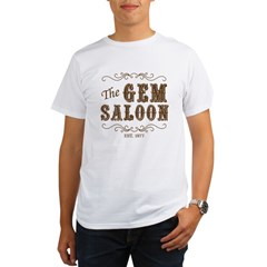 The Gem Saloon Organic Men's T-Shirt
