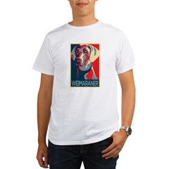 Vote Weimaraner! Organic Men's T-Shirt