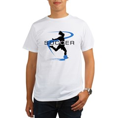Soccer Organic Men's T-Shirt