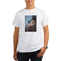 Navy WWII Poster Organic Men's T-Shirt