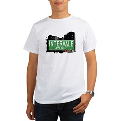 Intervale Av, Bronx, NYC Organic Men's T-Shirt