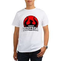 Phoenix Dodgeball Organic Men's T-Shirt