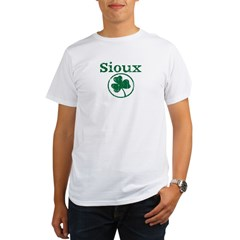 Sioux shamrock Organic Men's T-Shirt