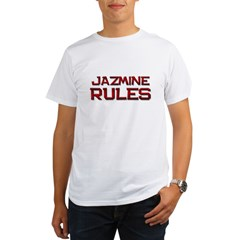 jazmine rules Organic Men's T-Shirt