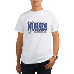 Be Kind to Nurses Organic Men's T-Shirt