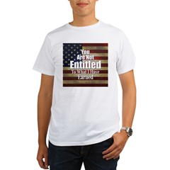 ENTITLED-square.jpg Organic Men's T-Shirt