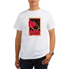 Mars Vacation Organic Men's T-Shirt