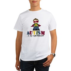 Autism is my Superpower Organic Men's T-Shirt