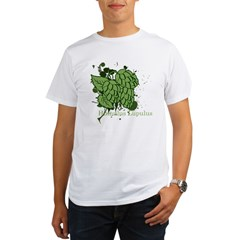 grunge_hops_dark Organic Men's T-Shirt
