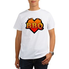 BBQ Love Organic Men's T-Shirt
