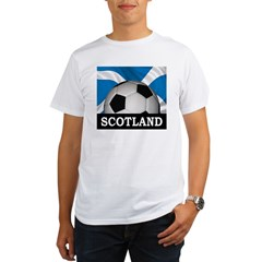 Football Scotland Organic Men's T-Shirt