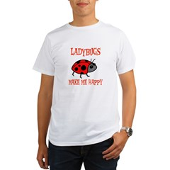 Ladybugs Organic Men's T-Shirt