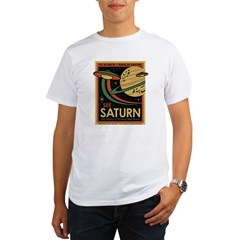 See Saturn Organic Men's T-Shirt