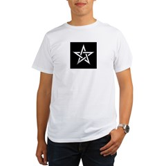 Wiccan Pentagram Organic Men's T-Shirt