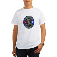 NAVY DIVER Organic Men's T-Shirt