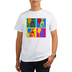 Pop Art Wine Organic Men's T-Shirt