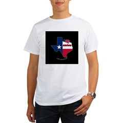 ILY Texas Organic Men's T-Shirt