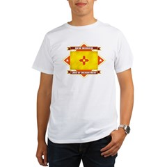 2-New Mexico diamond Organic Men's T-Shirt