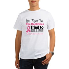Breast Cancer Fake Organic Men's T-Shirt