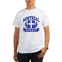 Montreal Quebec Organic Men's T-Shirt