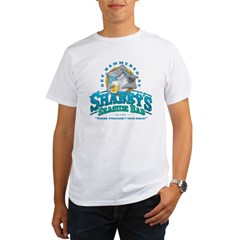 Sharky's Seaside Bar Organic Men's T-Shirt