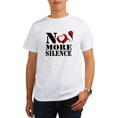 No More Silence Organic Men's T-Shirt