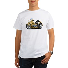 Goldwing Gold Trike Organic Men's T-Shirt