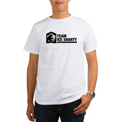 Team Iceshanty Ash Grey Organic Men's T-Shirt