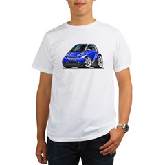 Smart Blue Car Organic Men's T-Shirt